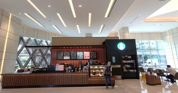Starbucks now open at Spring Tower